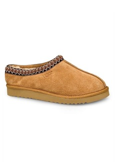 Ugg Men's Tasman Shearling-Lined Suede Slippers