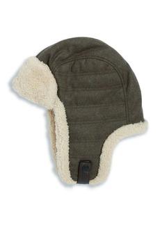 UGG Australia UGG Woven Shearling Trapper Hat