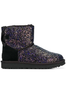 UGG Bow Cosmos glitter boots