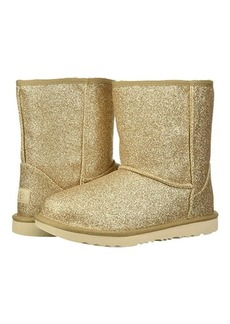 UGG Classic Short II Glitter (Little Kid/Big Kid)