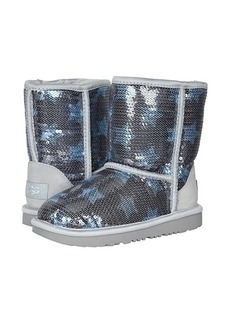 UGG Classic Short II Sequin Star (Little Kid/Big Kid)