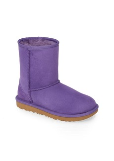 UGG Classic Short II Water Resistant Genuine Shearling Boot (Toddler & Little Kid)
