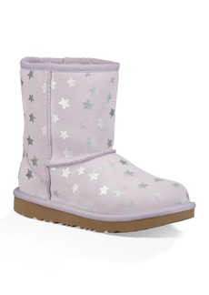 UGG Classic Short II Water Resistant Stars Boot (Toddler & Little Kid)