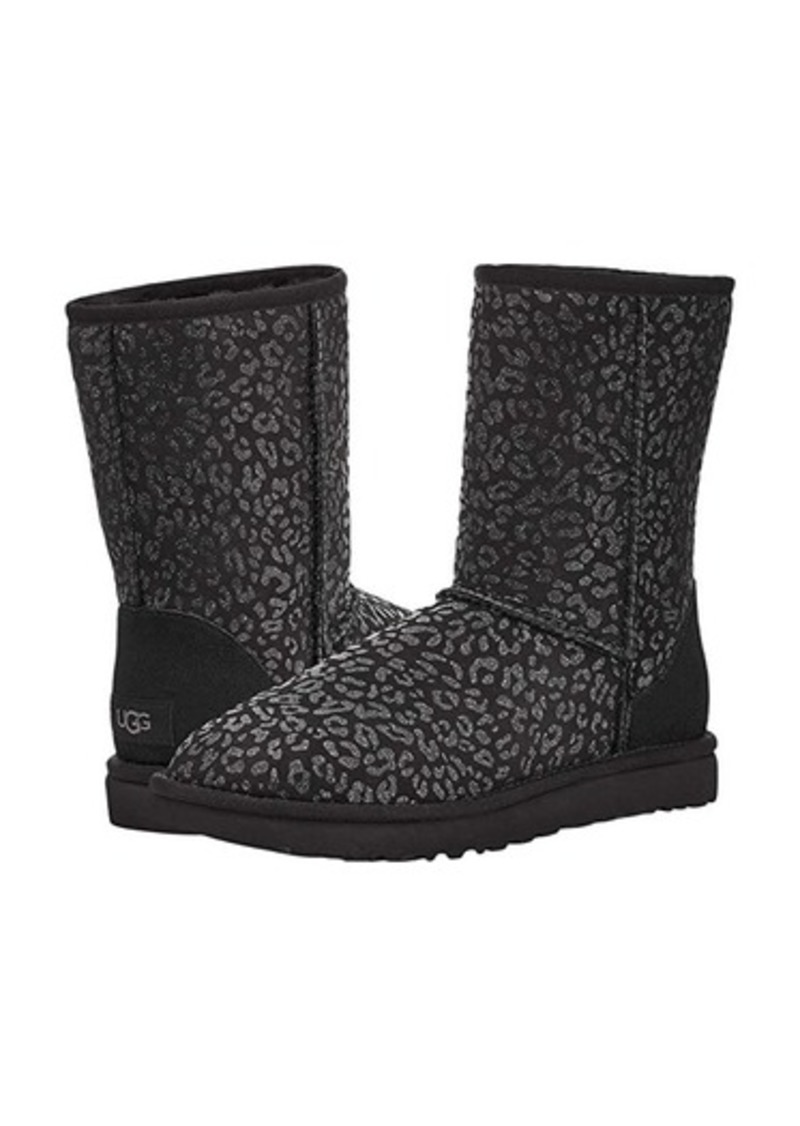 UGG Classic Short Snow Leopard