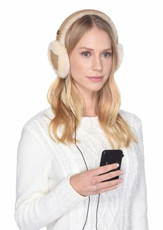 UGG Classic Water Resistant Sheepskin Tech Earmuff with Tech Option