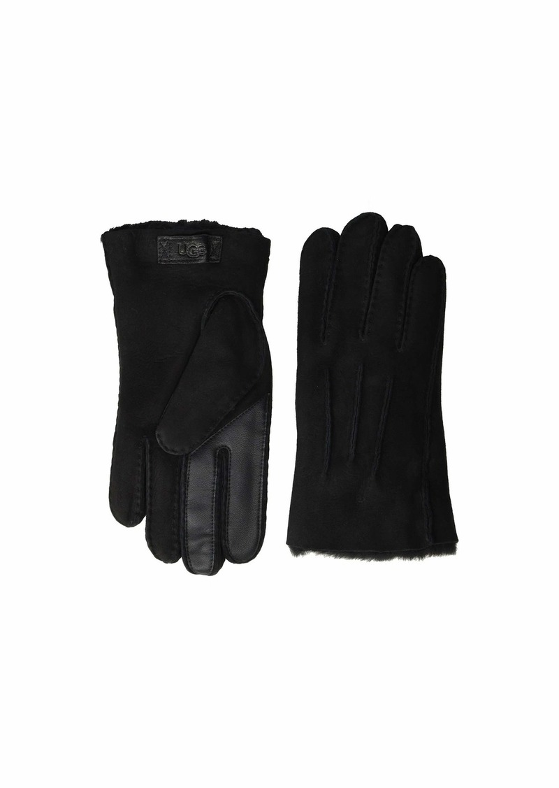 UGG Contrast Water Resistant Sheepskin Tech Gloves