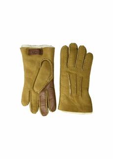 UGG Contrast Water Resistant Sheepskin Tech Gloves