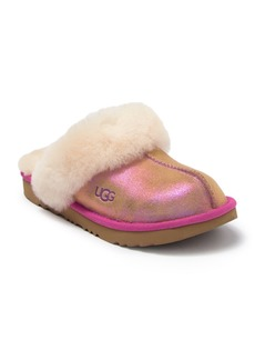 UGG Cozy II Shimmer Genuine Shearling Lined Slipper (Toddler, Little Kid, & Big Kid)