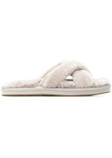 UGG cross strap sandals