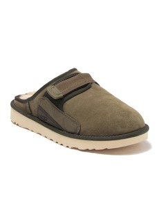 UGG Dune Suede Faux Fur Slip On