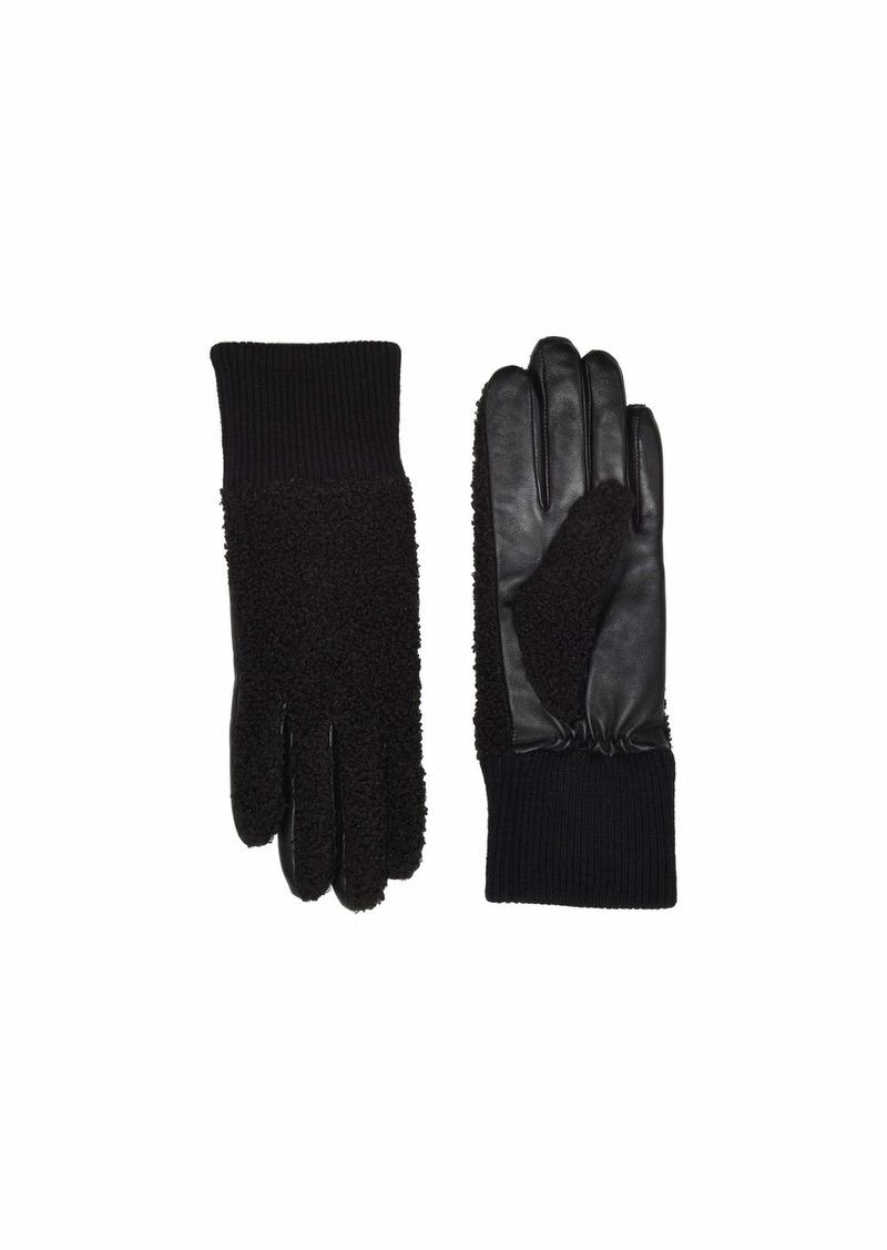 UGG Faux Sherpa Tech Gloves