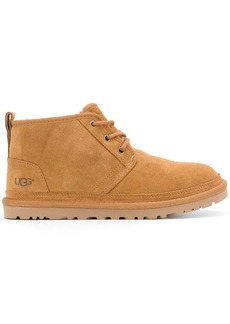 UGG flat lace-up boots