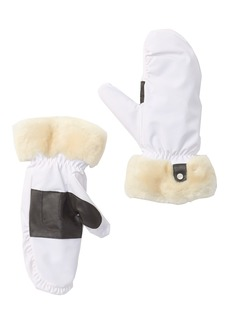 UGG Fontanne Water Resistant Genuine Shearling Trim Mittens