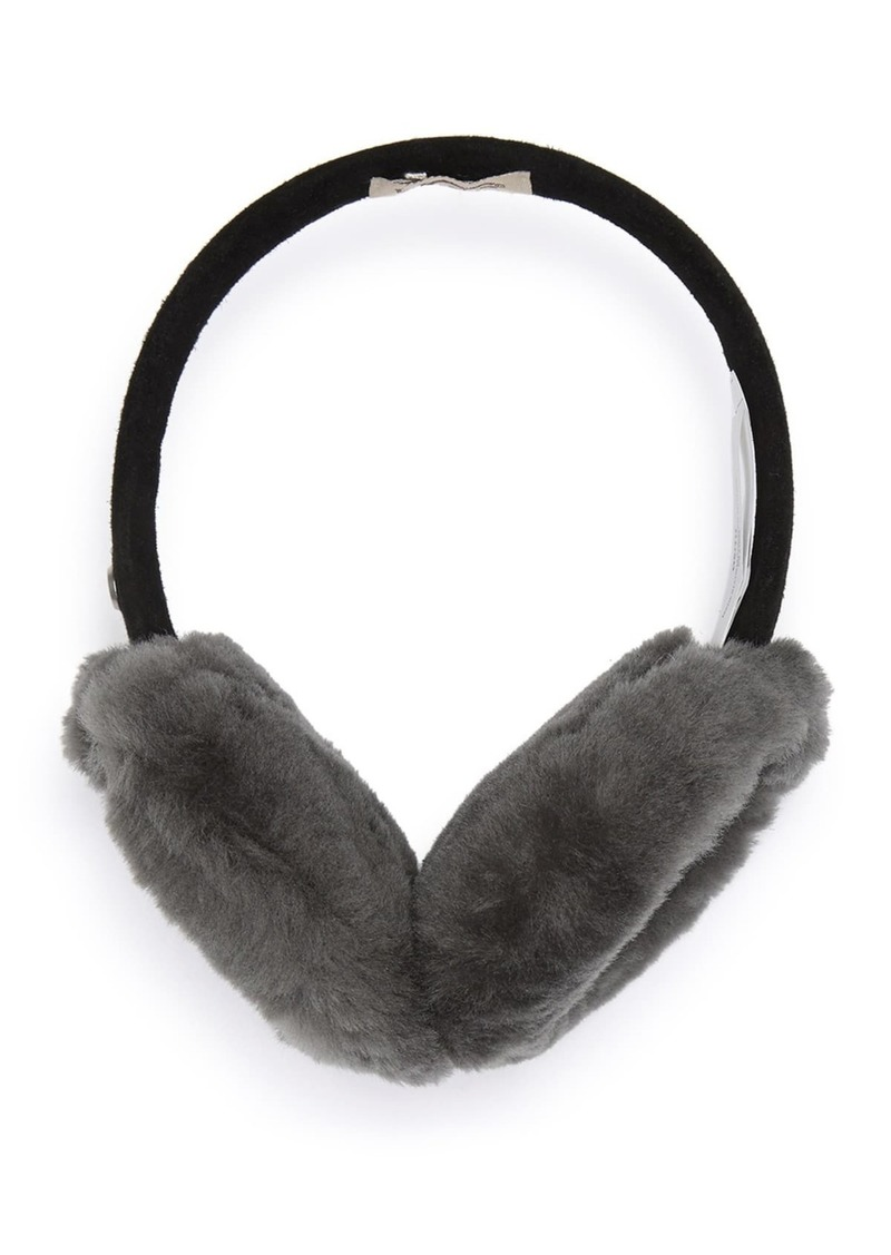 Genuine Dyed Shearling Classic Earmuffs