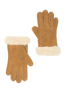 UGG Genuine Dyed Shearling Slim Side Vent Gloves