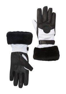 UGG Genuine Shearling Cuff Performance Smart Gloves
