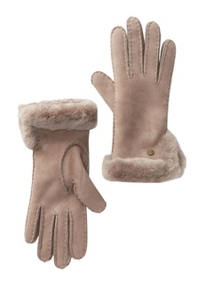 UGG Genuine Sheepskin Slim Side Vent Gloves