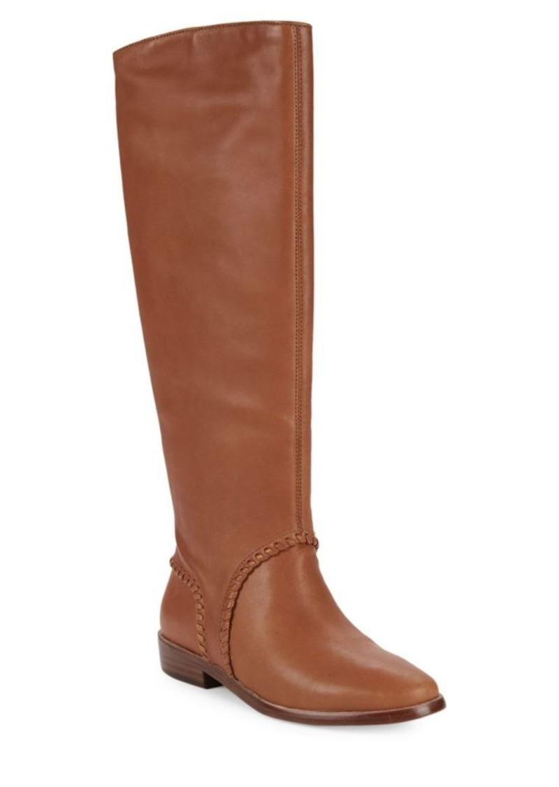 UGG Gracen Leather Knee-High Boots