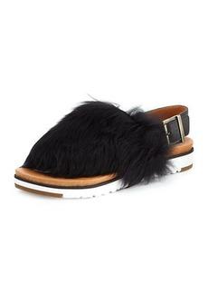 UGG Holly Sheepskin Slingback Sandals