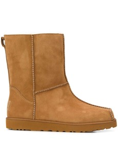 UGG interior lined square toe boots