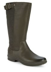 UGG Janina Leather & Textile Rain Boots