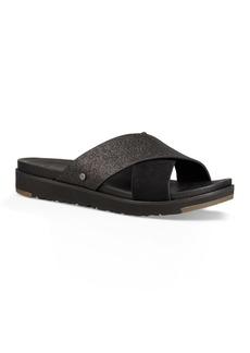 UGG(R) Kari Glitter Slide Sandal (Women)