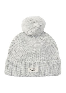 UGG Knit Pompom Beanie