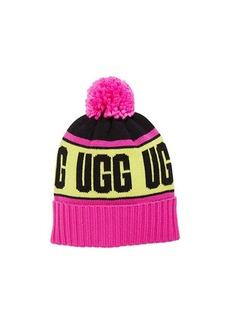 UGG Knit Stadium Beanie with Knit Pom (Toddler/Little Kids)