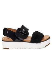 Le Fluff Patent Leather, Suede & UGGpure Sandals