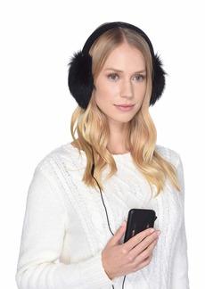 UGG Luxe Knit Longpile Sheepskin Earmuff with Tech Option