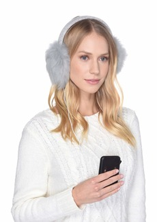 UGG Luxe Knit Longpile Sheepskin Earmuff with Tech Option