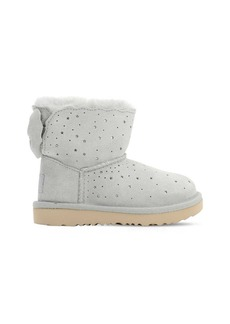 UGG Mini Bailey Bow Shearling Boots