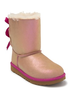 Mini Bailey Bow Shimmer II Water Resistant UGGpure Lined Boot (Little Kid & Big Kid)