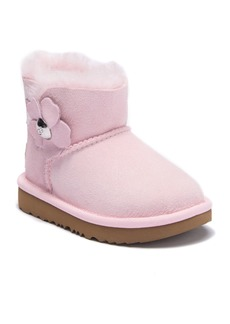 Mini Bailey Button Poppy Suede UGGpure™ Lined Boot (Toddler & Little Kid)