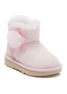 UGG Mini Bailey I Faux Fur Trimmed Cactus Flower Faux Boot (Toddler)