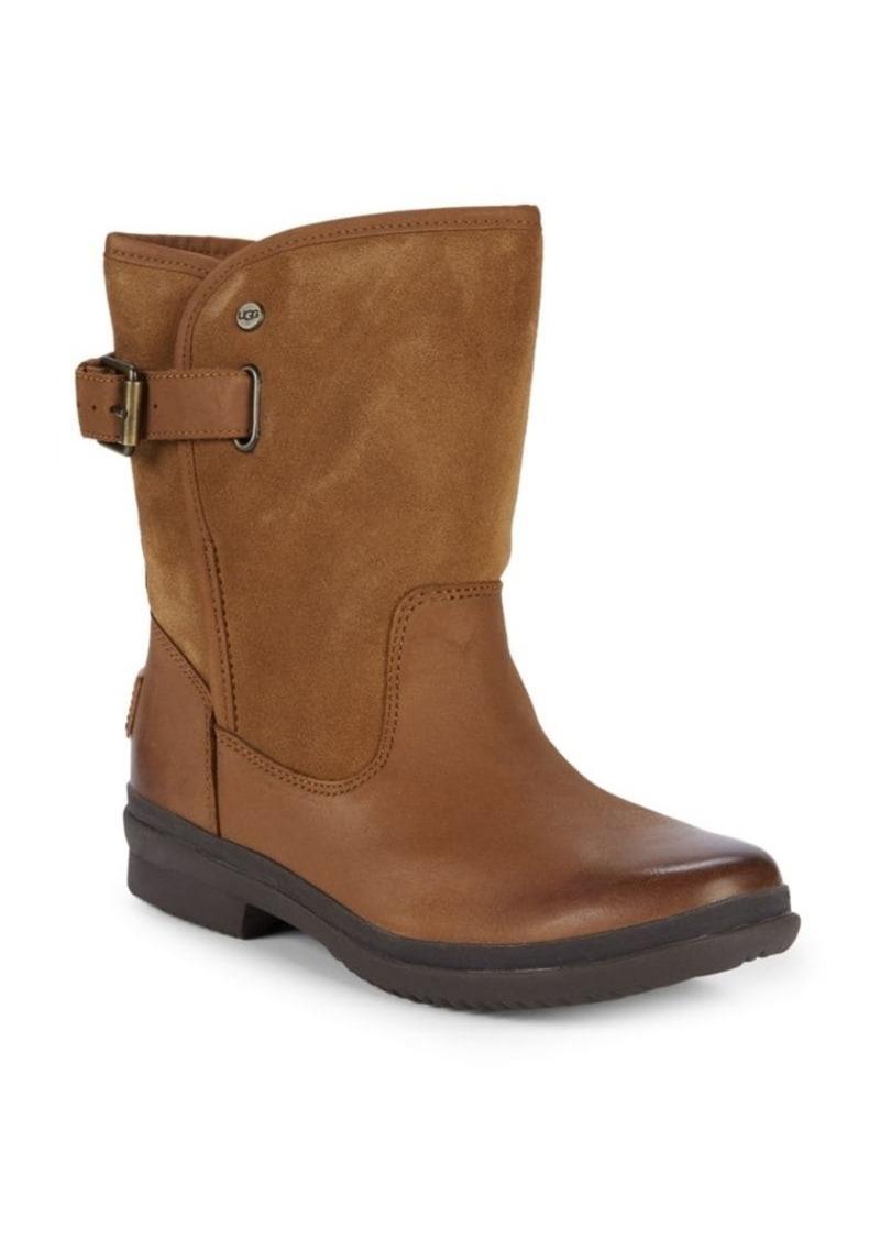 UGG Oren Leather Moto Boots