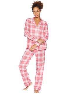 UGG Raven Woven Sleepwear Set Flannel Gift