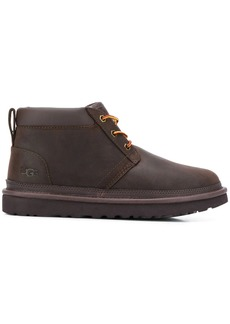 UGG round toe lace up boots