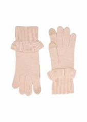 UGG Ruffle Knit Tech Gloves