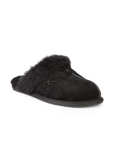 UGG Scuffet Shearling Embellished Slippers
