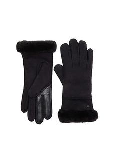 UGG Seamed Tech Water Resistant Sheepskin Gloves
