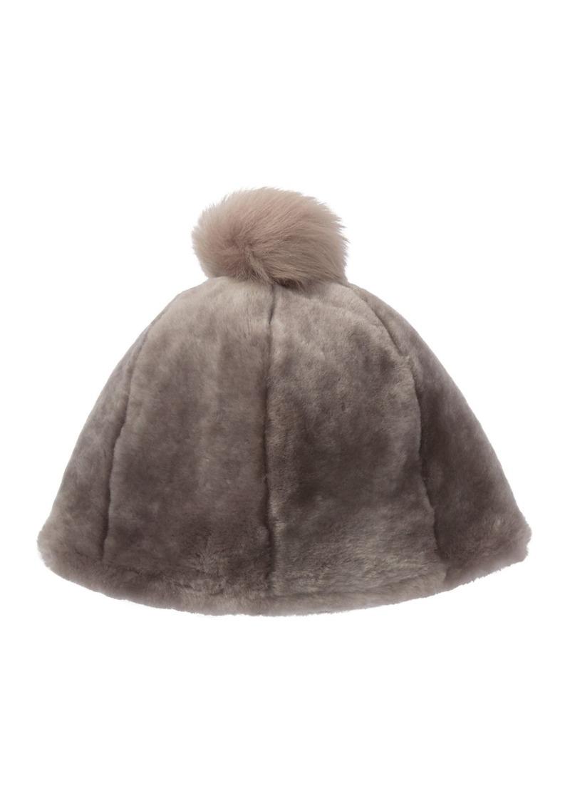 UGG Solid Genuine Sheepskin Beanie