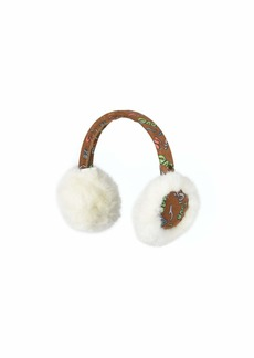 UGG Suede Earmuffs with Faux Fur Trim (Toddler/Little Kids)