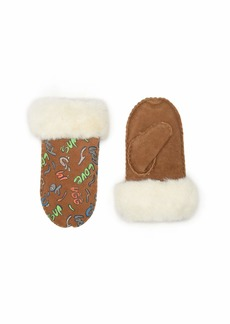 UGG Suede Mitten with Sherpa Lining (Toddler/Little Kids)