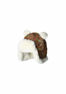 UGG Suede Trapper with Ears and Sherpa Lining Hat (Toddler/Little Kids)