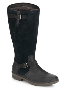 Thomsen UGGpure-Lined Suede & Leather Boots
