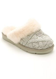 UGG + Cozy Cable Knit Slippers