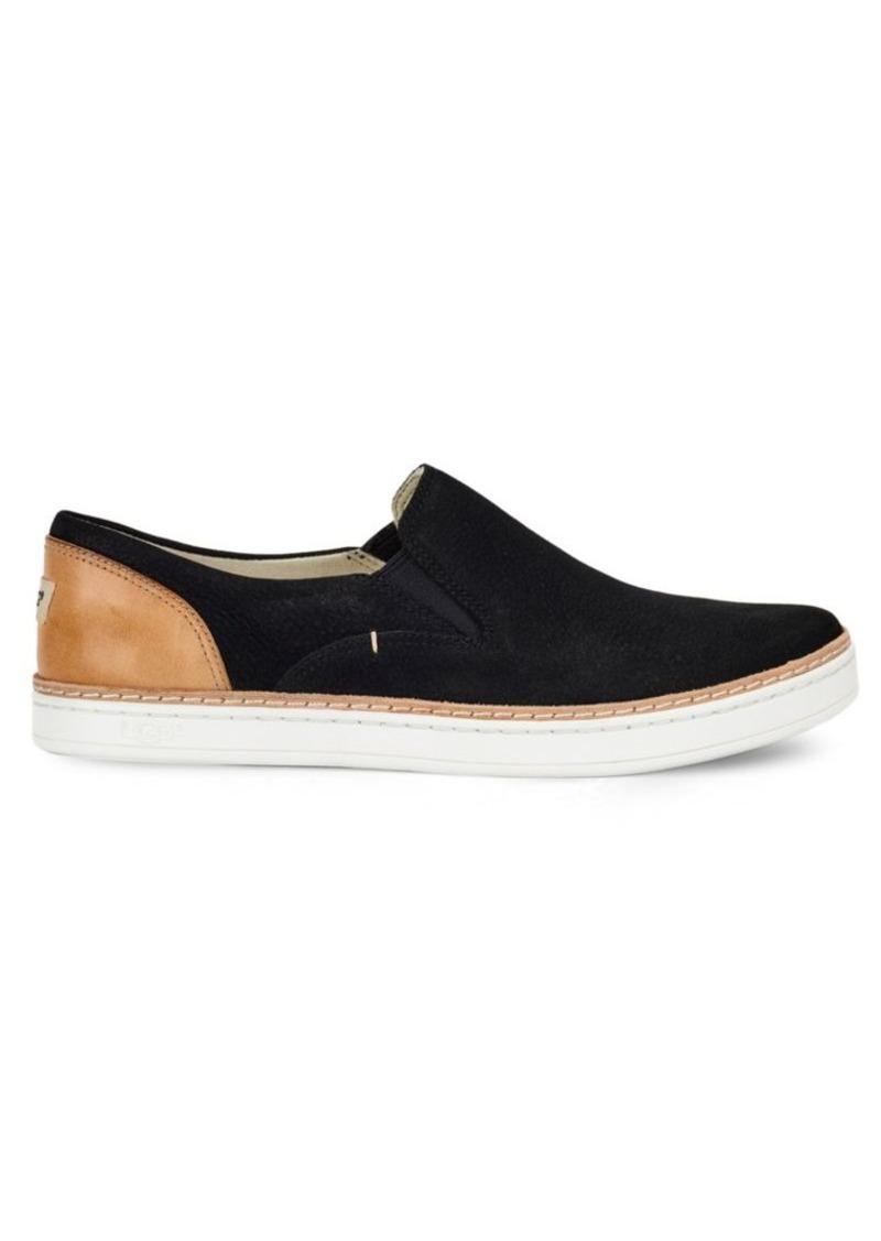 Ugg Ugg Adley Nubuck Slip On Sneakers Shoes