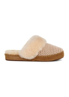 UGG� Aira Sheepskin Knit Slippers