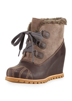 UGG Alasdair Mixed Platform Wedge Boot